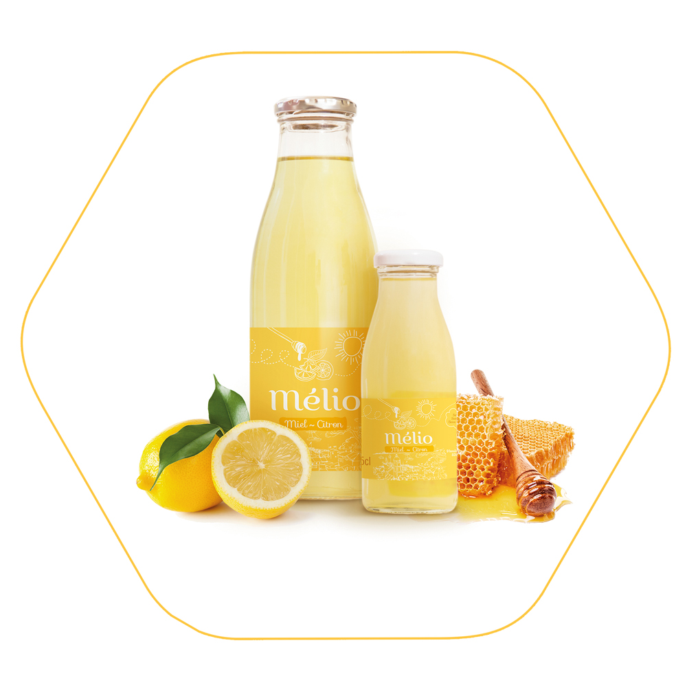 Melio boisson citron miel