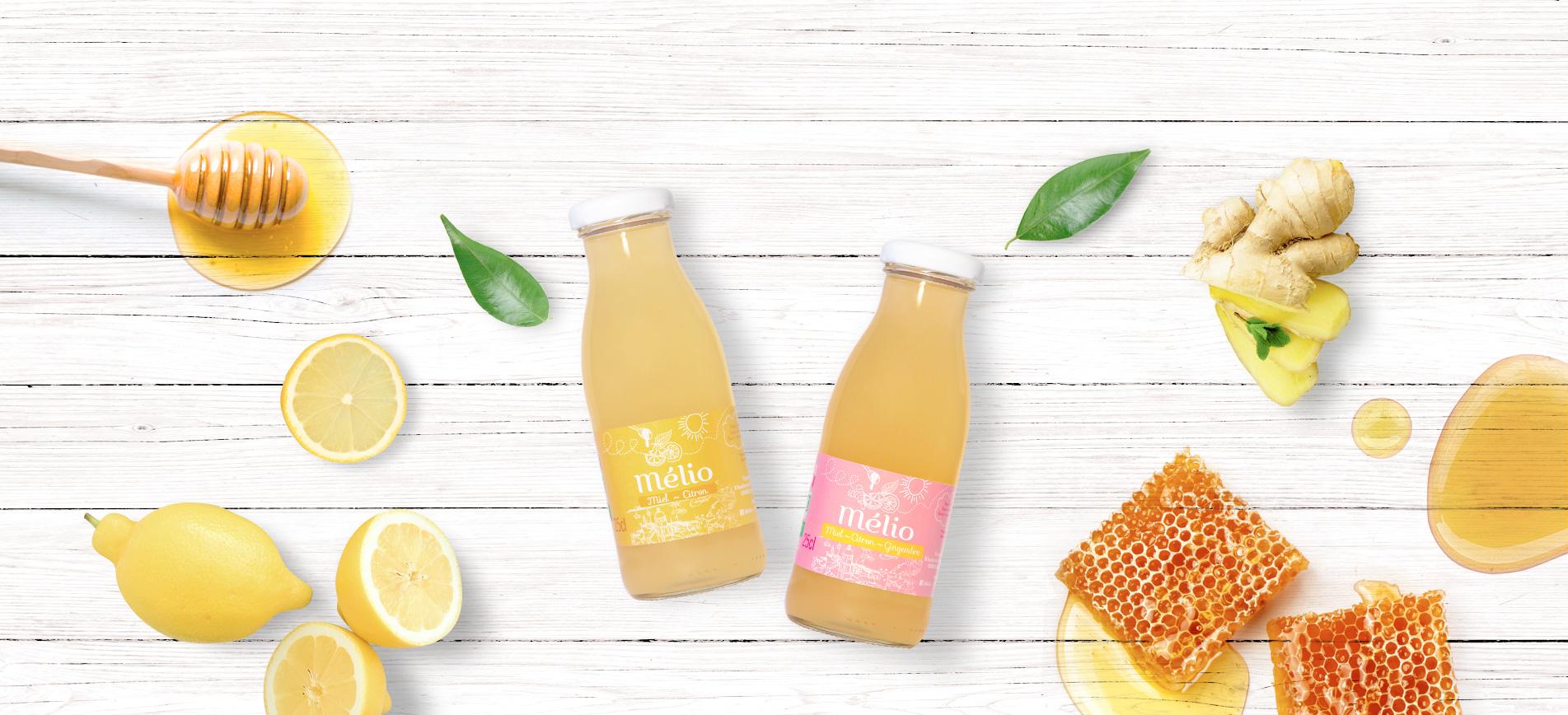 Melio boisson au miel bio