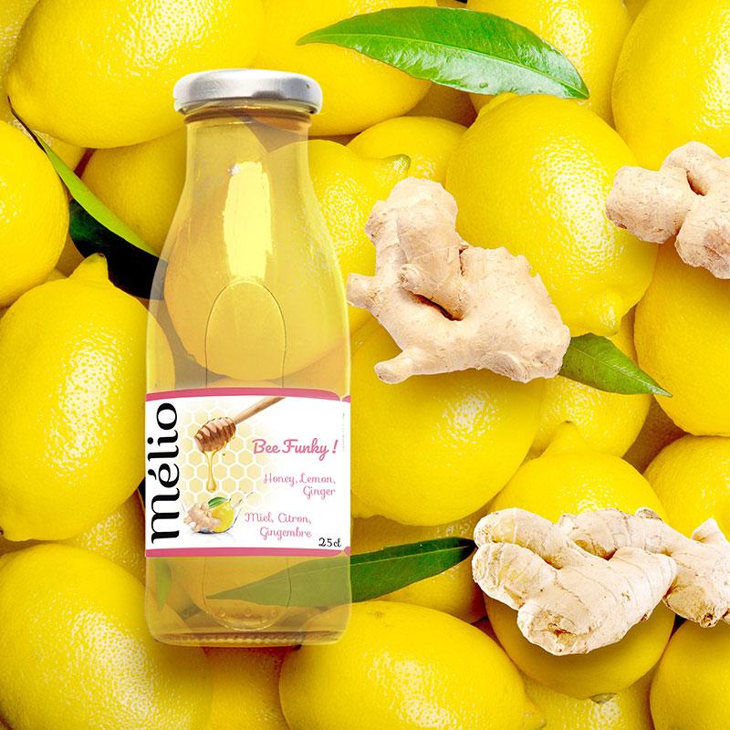 Melio-citron gingembre